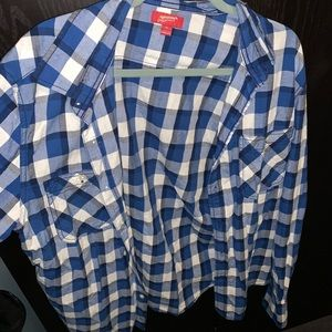 Mens arizona button down shirt
